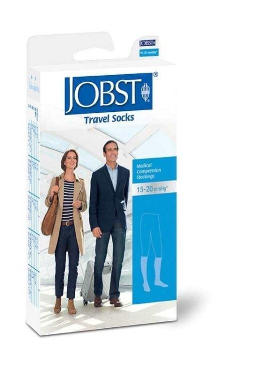 Jobst Travel Socks for the highest quality travel DVT vein compression knee high socks