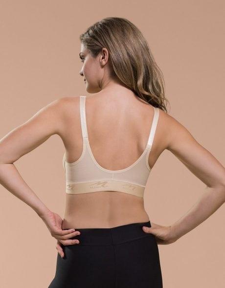 Marena Low Back, Front Zipper, thin shoulder B09Z Compression Bra Australia
