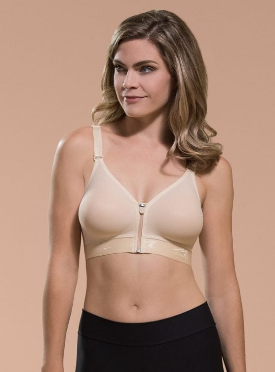Marena Low Back, Front Zipper, thin shoulder B09Z Compression Bra Australia