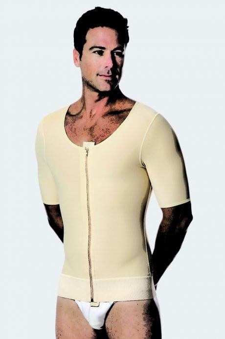 Male Abdominal, Chest, Back & Arm Cosmetic Surgery Compression Vest