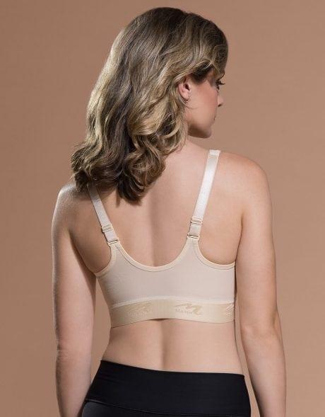 Slide-adjustable shoulder straps and detachable racerback option