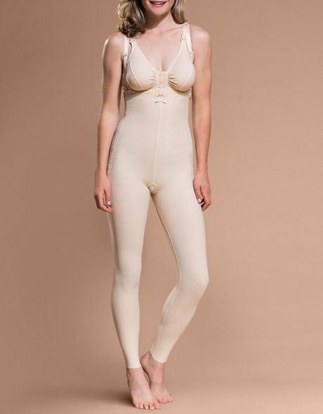 Female High Back Full Body Girdle Cosmetic Surgery Compression Garment