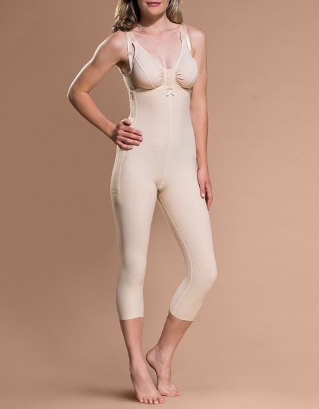 Marena Bodysuit Calf length COmpression Bodysuit on Bodyment