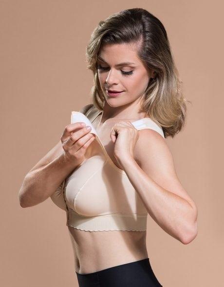 Velcro Shoulder Marena Comfort Medical Compression Bra Australia