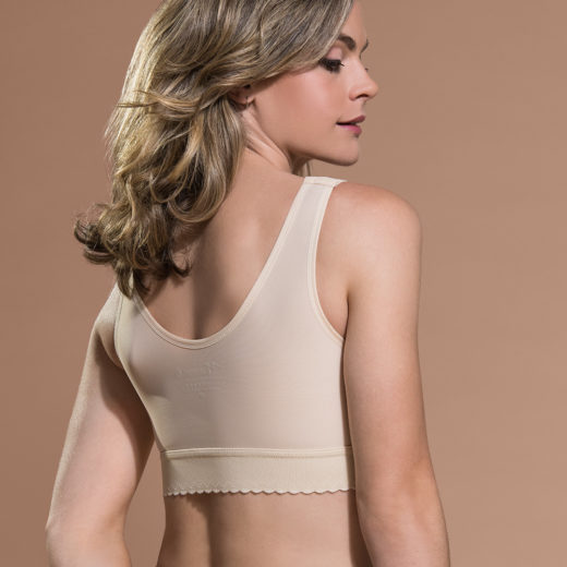 Breast Implant Bra with Stabiliser Band for Post Operative Support
