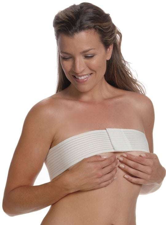 Clearpoint stabiliser for breasts