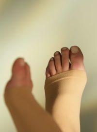 Sigvaris cotton open toe