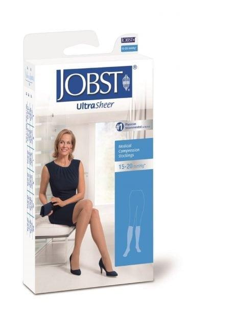 Jobst Ultrasheer Knee High Medical Compression Socks 15-20mmHg Class II Australia Online