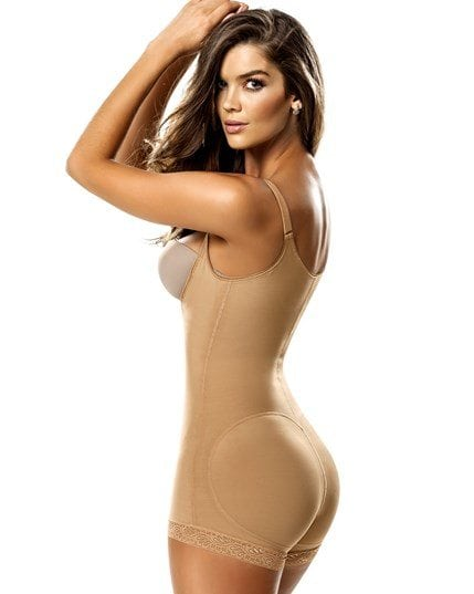 Leonisa Braless Compression Bodysuit Shaper Boy Leg Australias