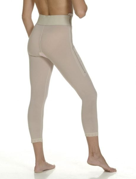 Calf Length Compression Girdle Back