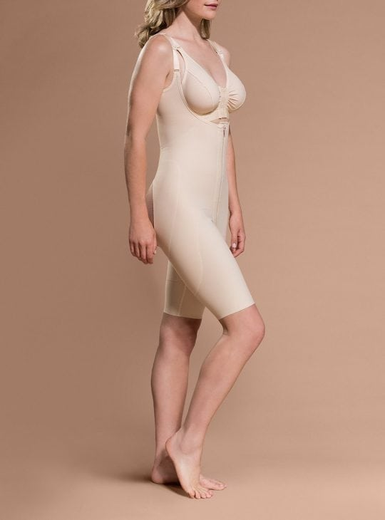 Open Buttock - Above-the-Knee Girdle exclusively at Bodyment Compression Bodysuits Australia