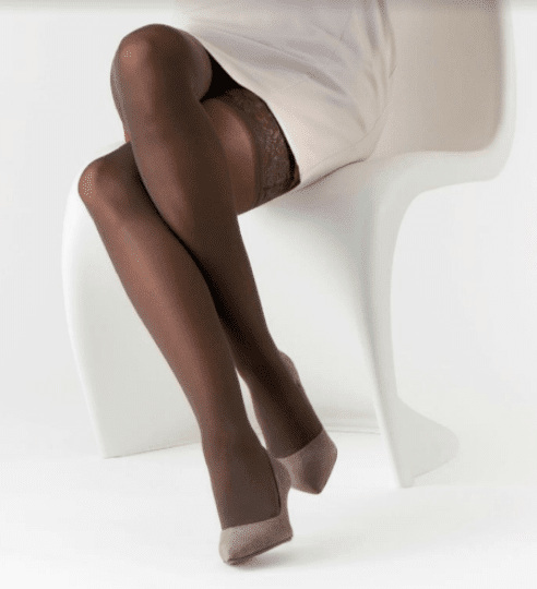 Delilah Sheer Thigh High